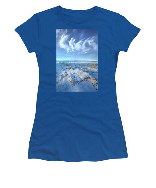 Women's T-Shirt featuring the photograph While Time Stands Still by Phil Koch