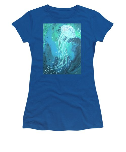 White Jellyfish Women's T-Shirt