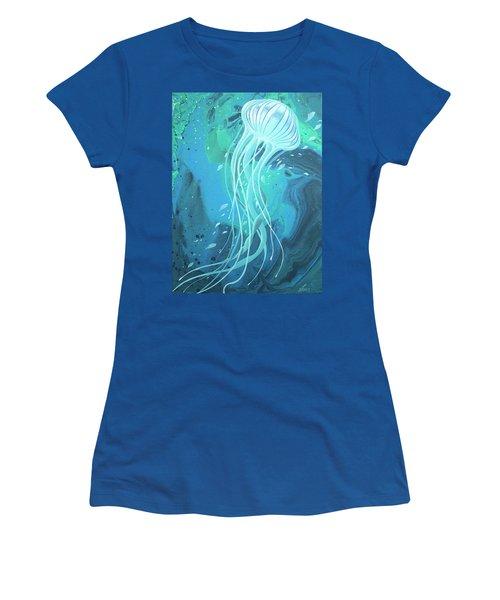 White Jellyfish Women's T-Shirt