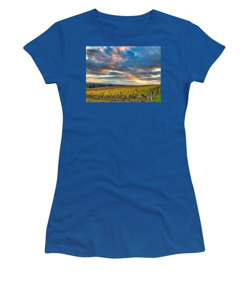 Willamette Valley In Fall Women's T-Shirt