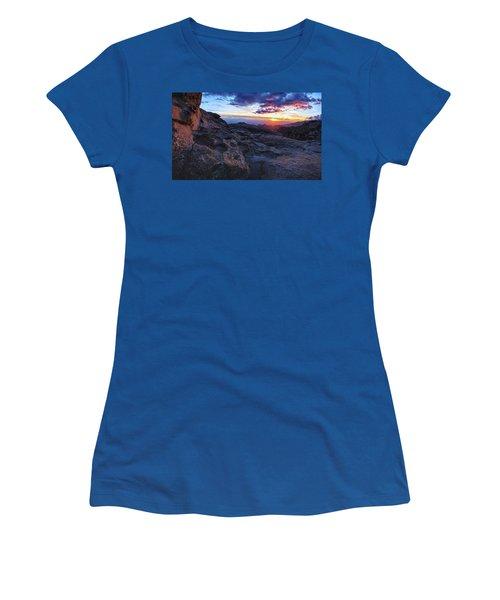 Windy Point Sunset Women's T-Shirt