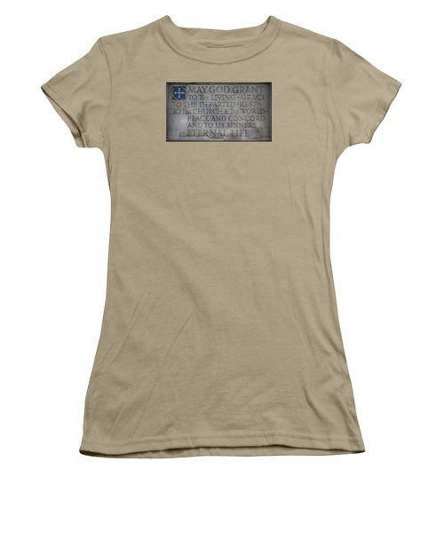 Blessing Women's T-Shirt (Junior Cut) by Stephen Stookey