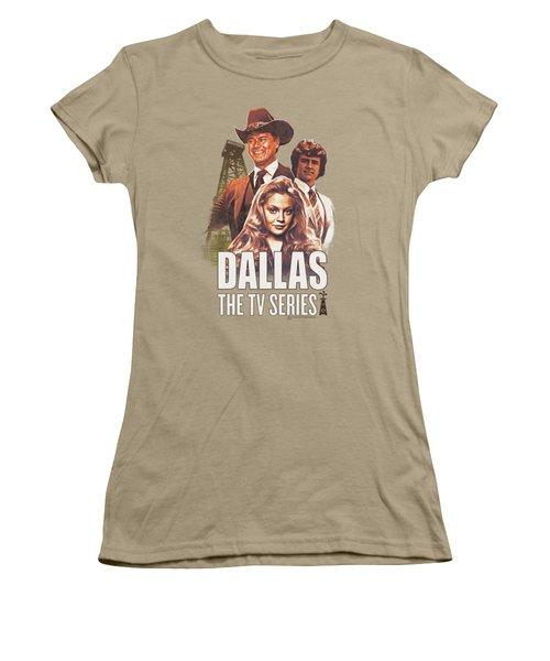 Dallas - Group Women's T-Shirt (Junior Cut) by Brand A