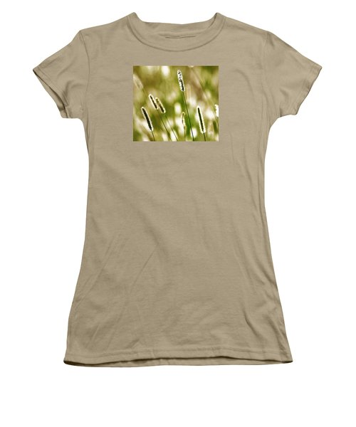 Women's T-Shirt (Junior Cut) featuring the photograph Light Play by Andy Crawford