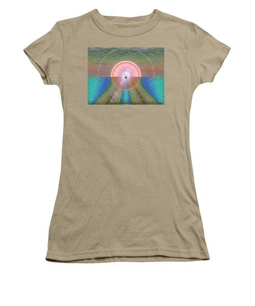 Sailors Warning Women's T-Shirt (Junior Cut) by Tim Allen
