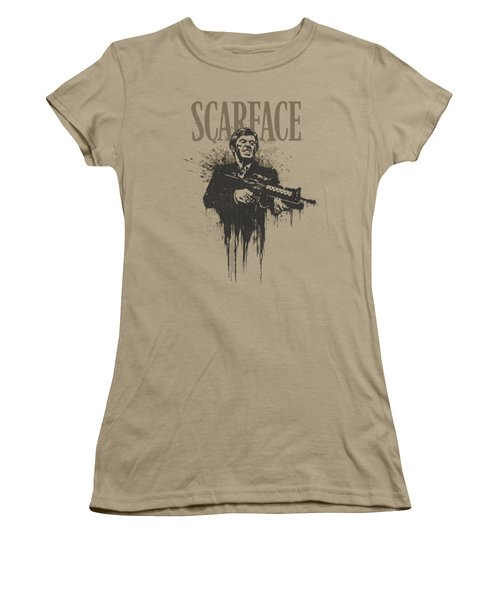 Scarface - Grimace Women's T-Shirt (Junior Cut) by Brand A