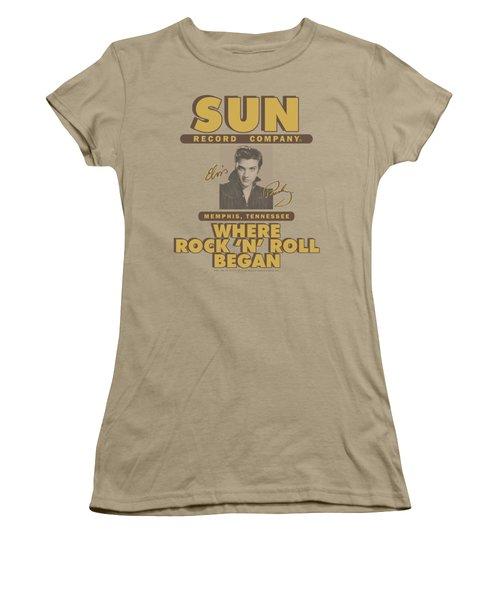 Sun - Sun Ad Women's T-Shirt (Junior Cut) by Brand A
