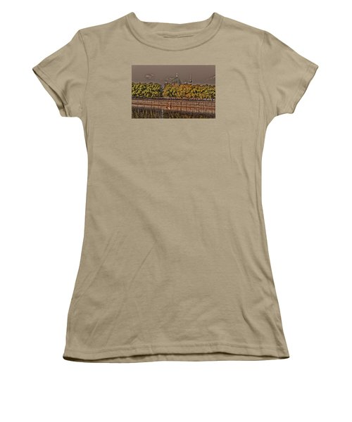 Women's T-Shirt (Junior Cut) featuring the photograph Berlin Cathedral ... by Juergen Weiss