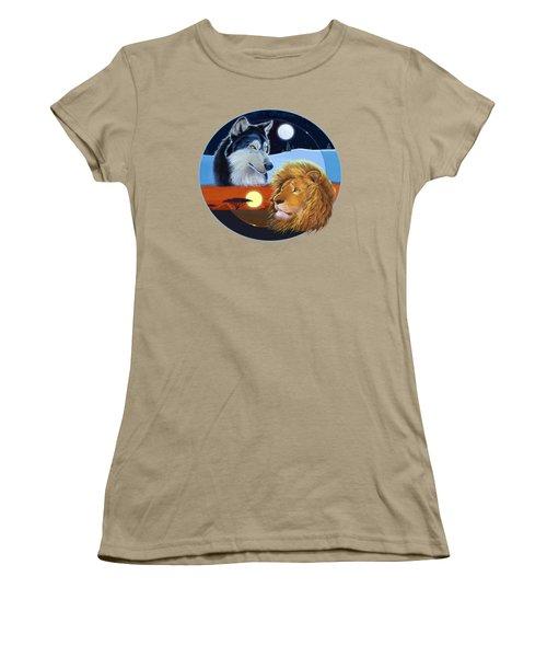 Celestial Kings Circular Women's T-Shirt (Junior Cut) by J L Meadows