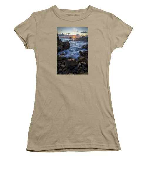 Women's T-Shirt (Junior Cut) featuring the photograph Corona Del Mar by Sean Foster