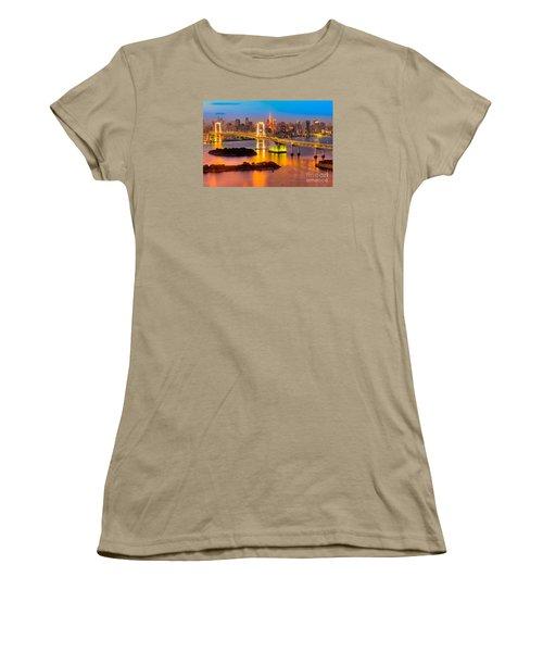 Tokyo - Japan Women's T-Shirt (Junior Cut) by Luciano Mortula