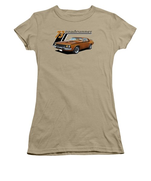 1973 Roadrunner Women's T-Shirt (Junior Cut) by Paul Kuras