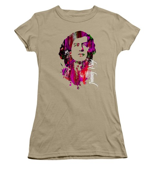 Jimmy Page Collection Women's T-Shirt (Junior Cut) by Marvin Blaine