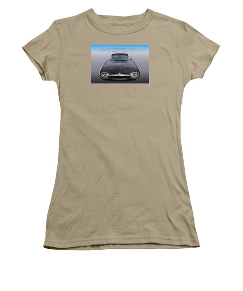 Women's T-Shirt (Junior Cut) featuring the photograph 63 Tbird by Keith Hawley