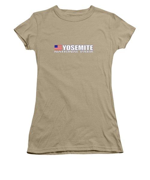 Yosemite National Park Women's T-Shirt (Junior Cut) by Brian's T-shirts