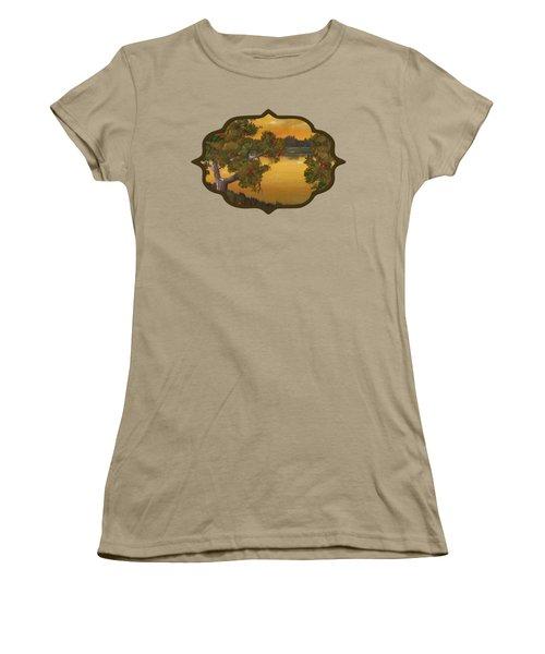 Apple Sunset Women's T-Shirt (Junior Cut) by Anastasiya Malakhova