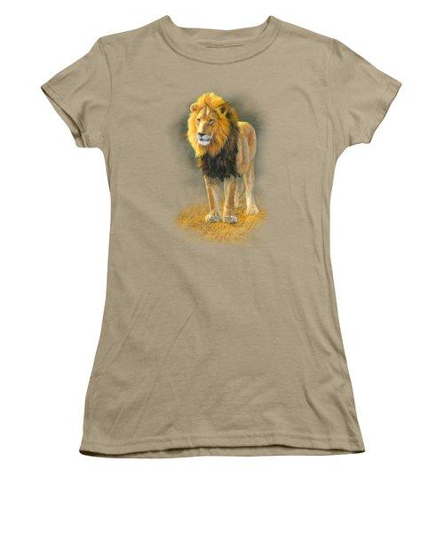 In His Prime Women's T-Shirt (Junior Cut) by Lucie Bilodeau