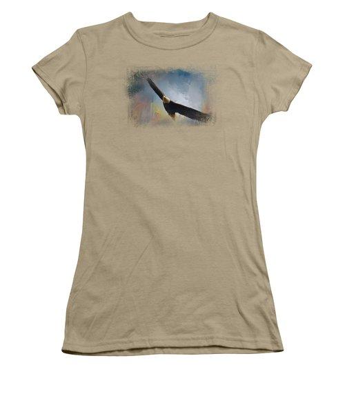 Ascending Women's T-Shirt (Junior Cut) by Jai Johnson