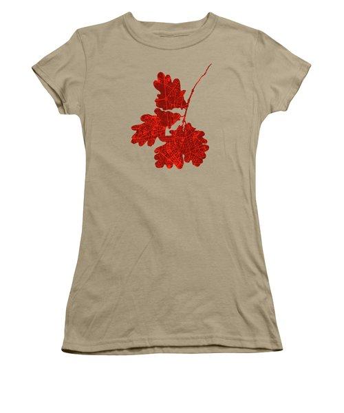 Berlin Classic Map Women's T-Shirt (Junior Cut) by Jasone Ayerbe- Javier R Recco