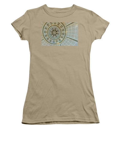 Ceiling Detail Women's T-Shirt (Junior Cut) by Sandy Taylor
