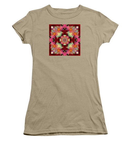 Women's T-Shirt (Junior Cut) featuring the photograph Centerpeace by Bell And Todd
