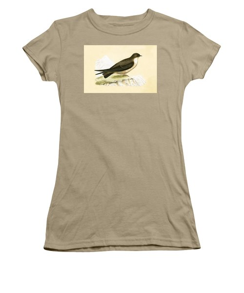 Crag Swallow Women's T-Shirt (Junior Cut) by English School
