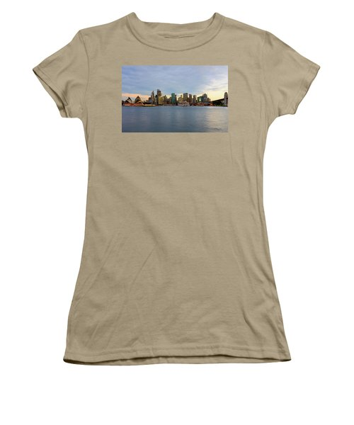 Cruiseship Sunset Women's T-Shirt (Junior Cut) by Petar Belobrajdic
