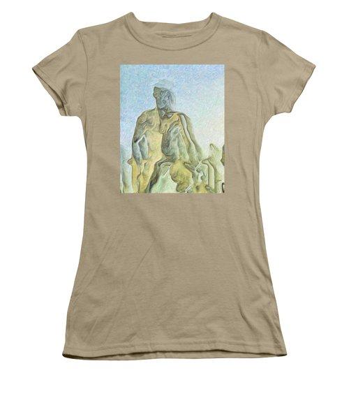 Cyclops Women's T-Shirt (Junior Cut) by Joaquin Abella