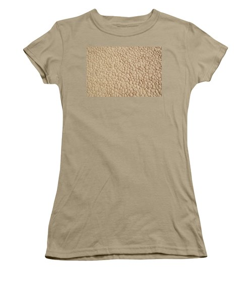 Women's T-Shirt (Junior Cut) featuring the photograph Death Valley Mud by Breck Bartholomew