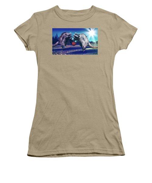 Defense Women's T-Shirt (Junior Cut) by Jonny Lindner