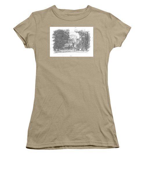 Women's T-Shirt (Junior Cut) featuring the photograph Ellaville, Ga - 1 by Jerry Battle