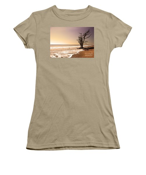 Women's T-Shirt (Junior Cut) featuring the photograph For Just One Day by Dana DiPasquale