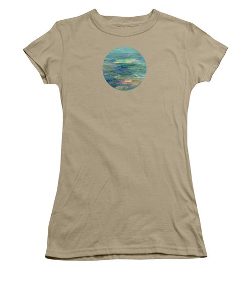 Gentle Light On The Water Women's T-Shirt (Junior Cut) by Mary Wolf