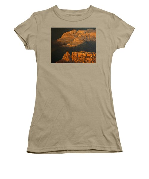 Grand Canyon Meditation Women's T-Shirt (Junior Cut) by Jim Thomas