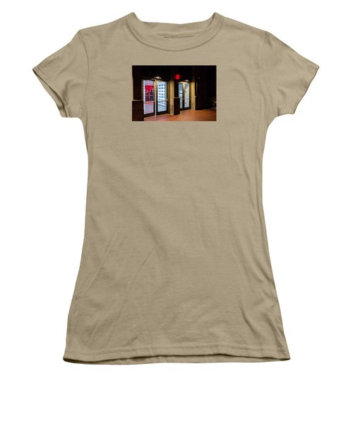 Women's T-Shirt (Junior Cut) featuring the photograph Guarding The Door by M G Whittingham