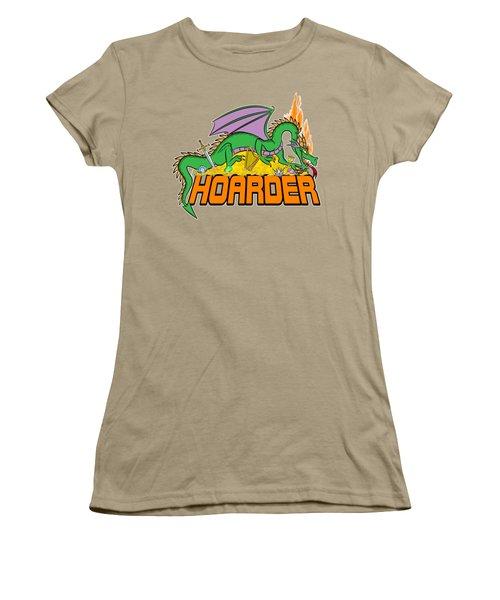 Hoarder Women's T-Shirt (Junior Cut) by J L Meadows