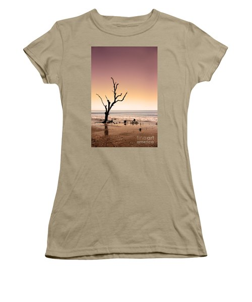 Women's T-Shirt (Junior Cut) featuring the photograph I Can Be Free by Dana DiPasquale