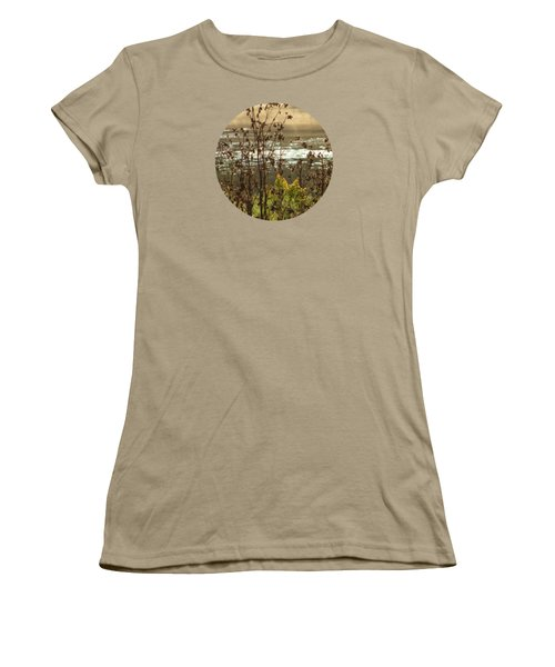 In The Golden Light Women's T-Shirt (Junior Cut) by Mary Wolf