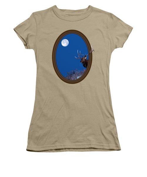 Looking Beyond Women's T-Shirt (Junior Cut) by Shane Bechler