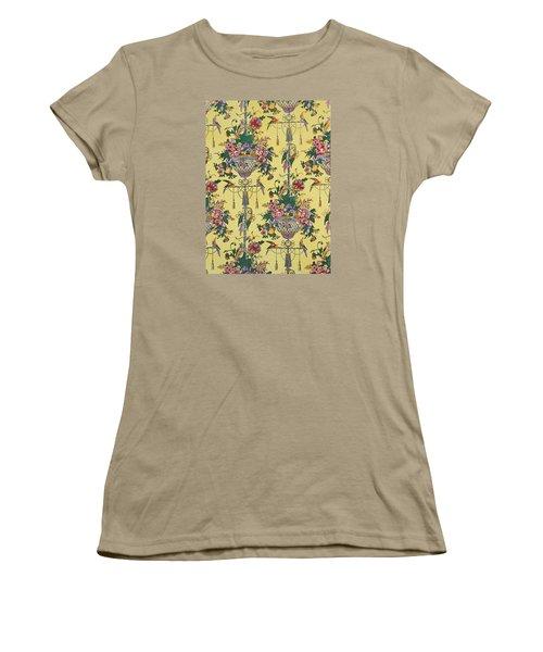 Melbury Hall Women's T-Shirt (Junior Cut) by Harry Wearne