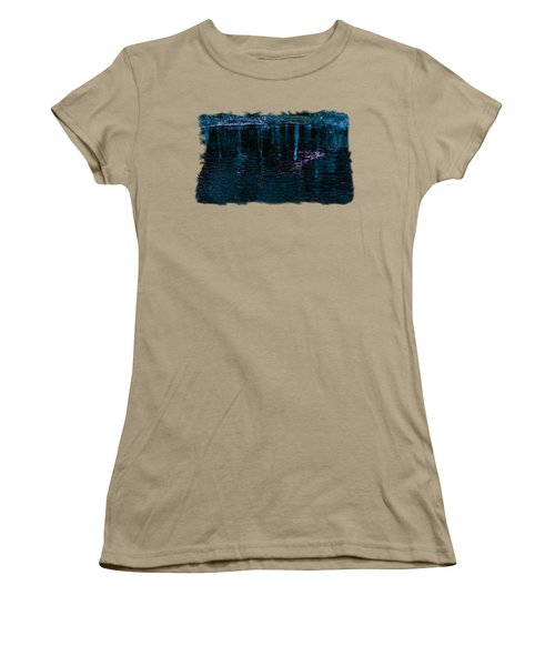 Midnight Spring Women's T-Shirt (Junior Cut) by John M Bailey