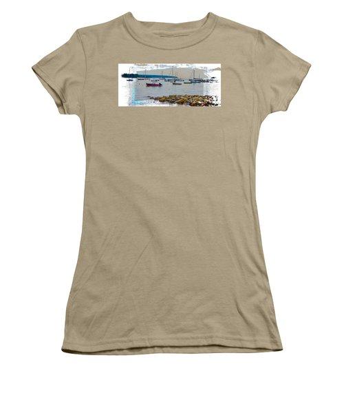 Moorings Mug Shot Women's T-Shirt (Junior Cut) by John M Bailey