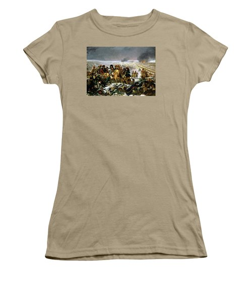 Women's T-Shirt (Junior Cut) featuring the painting Napoleon At Eylau  by Antoine Jean Gros