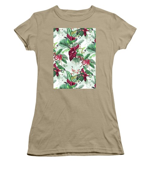 Nicaragua Women's T-Shirt (Junior Cut) by Jacqueline Colley