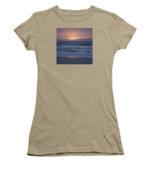 Office View Women's T-Shirt (Junior Cut) by Betsy Knapp