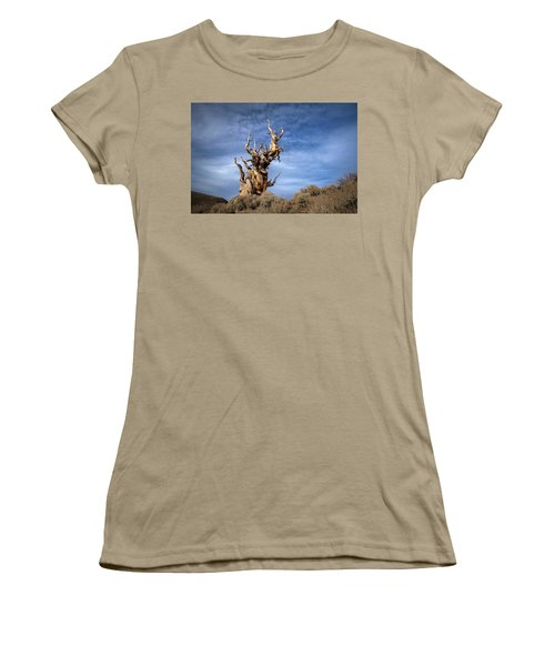 Women's T-Shirt (Junior Cut) featuring the photograph Old Friend by Sean Foster