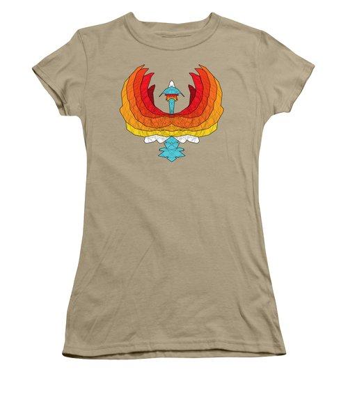 Phoenix Women's T-Shirt (Junior Cut) by Dusty Conley