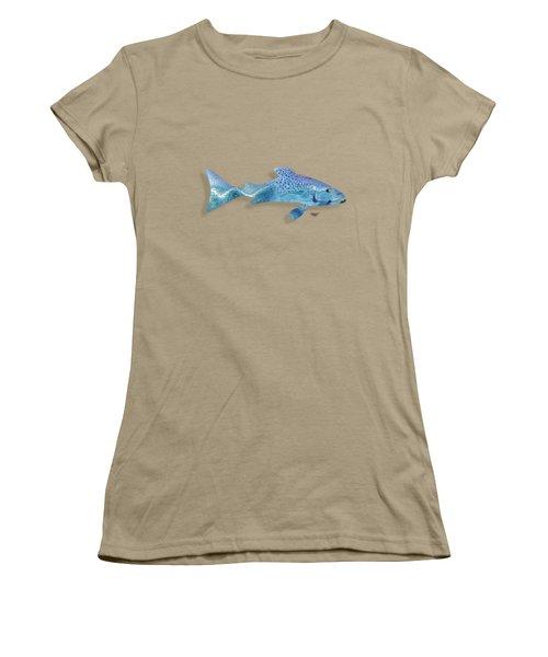 Rainbow Trout Women's T-Shirt (Junior Cut) by Mikael Jenei