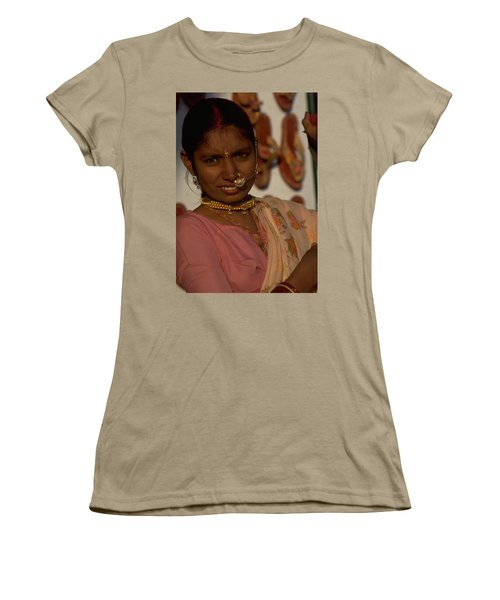 Women's T-Shirt (Junior Cut) featuring the photograph Rajasthan by Travel Pics