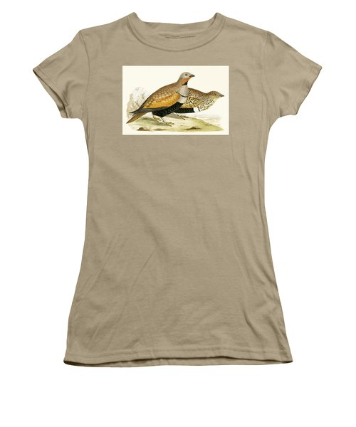 Sand Grouse Women's T-Shirt (Junior Cut) by English School